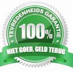 100procent-tevredenheidsgarantie-niet-goed-geld-terug